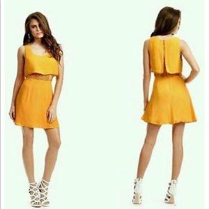Guess by Marciano Danika Yellow Dress